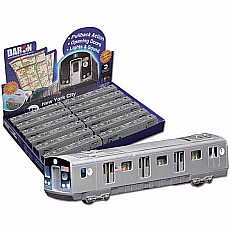 Mta Pullback Subway Car Die-cast