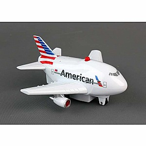 American Airlines Pullback with Light & Sound New Livery