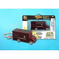 Ups Package Car Key Chain W/LIGHTS & Sound