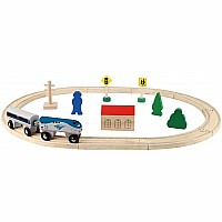 Amtrak Wooden Railway - 20 Pc. Set