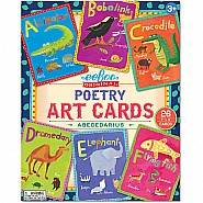 Abecedarius (Poetry) Art Cards