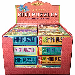 eeBoo Miniature Puzzle Assortment