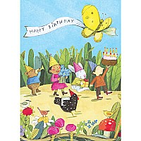 Birthday Parade Birthday Card