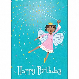 Little Fairy With Wand Birthday