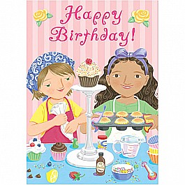Birthday Cupcakes Birthday Card