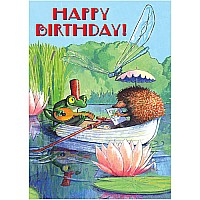 Boat Ride Birthday Card