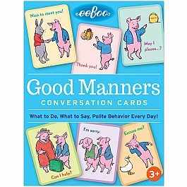 Good Manners Flash Cards (2ED)