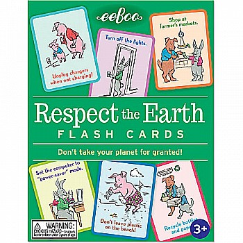 Respect The Earth Flash Cards