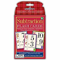Flash Cards Subtraction (2ED)