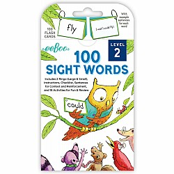 100 Sight Words Level 2 Flash Cards