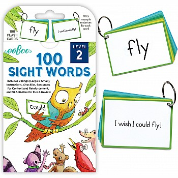 Flash Cards - 100 Sight Words Level 2