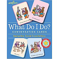 What Do I Do? Conversation Flash Cards