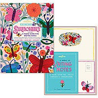 Butterflies Lost Arts Stationery Set