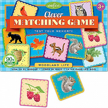 Woodland Life Matching Game