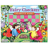 Fairies Checkers Magnetic Game