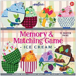 Ice Cream Memory & Matching Game