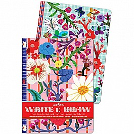 Butterflies and Flowers Write & Draw Set
