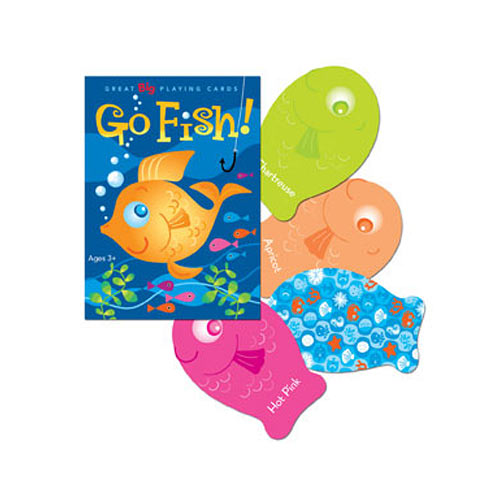 Color go fish timbuk toys for The rules of go fish