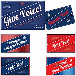 Give Voice Postcards