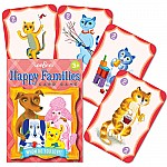 Happy Families Playing Cards