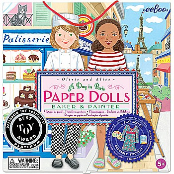 Paper Dolls A Day in Paris (2ED)