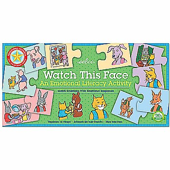 Watch This Face Puzzle Pairs