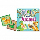 Animal Memory Preschool Game