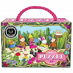 eeBoo Birthday Parade 20-Piece Puzzle
