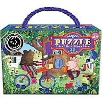 Bear on Bicycle 20 Piece Puzzle E