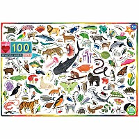 100 pc Beautiful World Puzzle