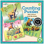 Animal Counting Puzzles