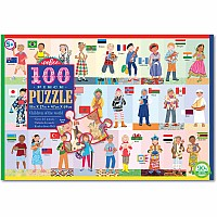 100 pc Children of the World Puzzle