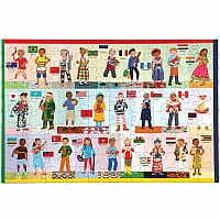 Children of the World 100 Piece Puzzle