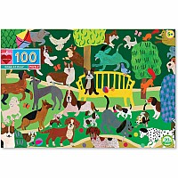 100 pc Dogs at Play Puzzle