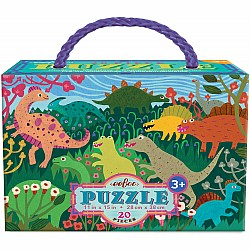 20pc Puzzle - Dinosaur Meadow