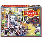 Fire Truck 42 PC Puzzle