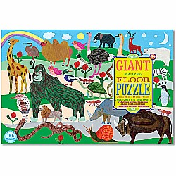 Creatures Big and Small Giant Puzzle