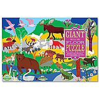 Woodland Animals 48 pc. Giant Floor Puzzle