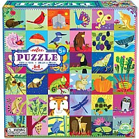 Portraits of Nature 64pc Puzzle