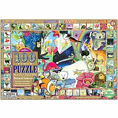 eeboo Natural Science 100 Piece puzzle