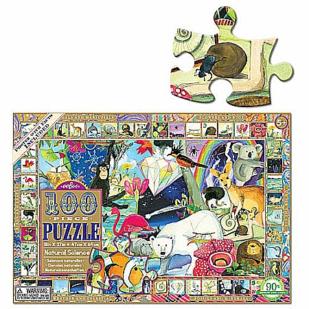 Natural Science 100pc puzzle