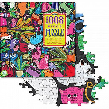 Cats at Work 1000 Piece Puzzle