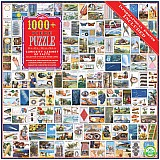 Curiosity Cabinet of Facts 1000 Piece Puzzle