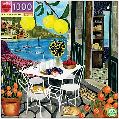 1000 Piece Cats in Positano Puzzle