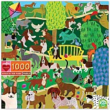 1000 Piece Dogs in the Park Puzzle