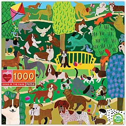 Dogs in the Park 1000 Piece Puzzle
