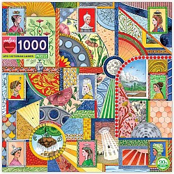 UFO Victorian Ladies 1000 Piece Puzzles
