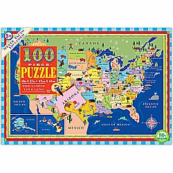 100pc Puzzle - This Land Is Your Land