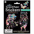 Rainbow and Friends Scratch Paper Stickers