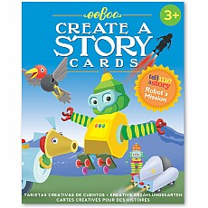 Robot's Mission Tell Me a Story Cards